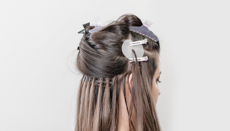 ¿Las extensiones provocan la caída del cabello?